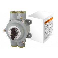 Пакетный выключатель ПВ3-100 3П 100А 220В, силуминовый корпус, IP56 | SQ0723-0072 | TDM