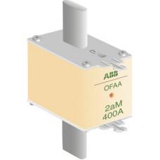 Предохранитель OFAF2aM400 400A тип аМ размер2, до 500В | 1SCA022697R9510 | ABB