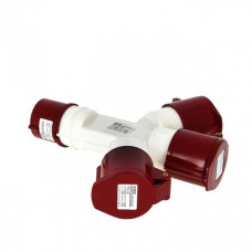 Розетка трехлучевая 1013-214 3Р+РЕ 16А 380В IP44 EKF PROxima | ps-1013-214-16-380 | EKF