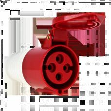 Розетка переносная 214 3Р+РЕ 16А 380В IP44 EKF PROxima | ps-214-16-380 | EKF