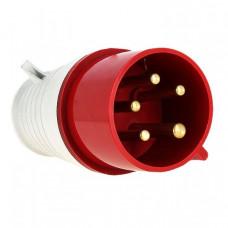Вилка переносная 025 3Р+РЕ+N 32А 380В IP44 EKF PROxima | ps-025-32-380 | EKF