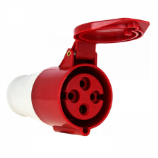 Розетка переносная 224 3Р+РЕ 32А 380В IP44 EKF PROxima | ps-224-32-380 | EKF