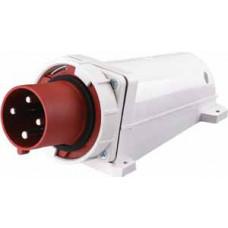 Вилка стационарная 534 3Р+РЕ 63А 380В IP67 ВС-102 | 26025DEK | DEKraft