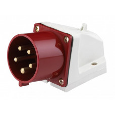 Вилка стационарная 515 3Р+РЕ+N 16А 380В IP44 ВС-102 a | 26021DEK | DEKraft