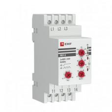 Реле контроля фаз многофункциональное RKF-8 EKF PROxima   rkf-8   EKF