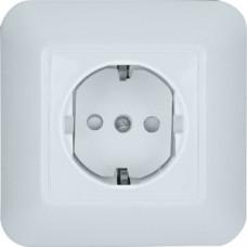 ПРИМА С/У Белый Розетка 1-ая с/з с защитными шторками 16А (в сборе)(опт.упак.) | RS16-004-B | Schneider Electric
