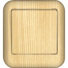 ПРИМА О/У Сосна Выключатель 1-клавишный 10А, с изолир. пластиной (в сборе) (индивид.упак.)   VA1U-112I-7I   Schneider Electric