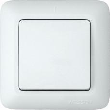 ПРИМА С/У Белый Выключатель 1-клавишный 6А (в сборе) (опт.упак.) | S16-057-B | Schneider Electric