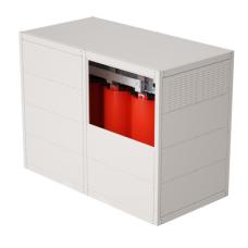 Трансформатор с литой изоляцией 1250 кВА 10/0,4 кВ D/Yn–11 IP31 | TDA13ADYN1AB000 | DKC