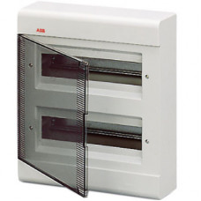 Бокс EUROPA настенный 24М прозр.дверь белый | 1SL2464A00 | ABB