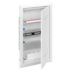 Шкаф мультимедийный с дверью с вентиляционными отверстиями UK636MV (3 ряда)   2CPX031384R9999   ABB
