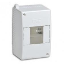 Коробка о/п на 4 модуля 130*90*65мм без з/ш IP30 | 68024 | Рувинил