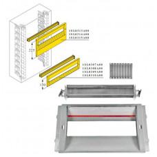 DIN-рейка+пластрон H=150мм для шкафа GEMINI (Размер4-5) | 1SL0309A00 | ABB