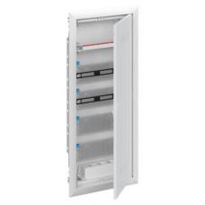 Шкаф мультимедийный с дверью с радиопрозрачной вставкой UK660MW (5 рядов)   2CPX031389R9999   ABB