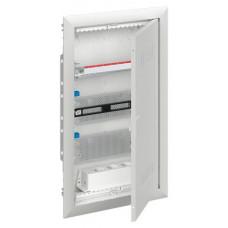 Шкаф мультимедийный с дверью с радиопрозрачной вставкой UK636MW (3 ряда)   2CPX031387R9999   ABB