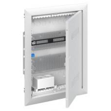 Шкаф мультимедийный с дверью с вентиляционными отверстиями и DIN-рейкой UK620MV (2 ряда)   2CPX031390R9999   ABB