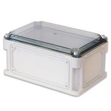 Корпус пластиковый IP67. 300х150х146 (высота крышки 21). глад. стенки. прозрачная крышка | 531211 | DKC