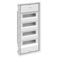 UK648NB Шкаф внутреннего монтажа 48М без двери с самозажимными клеммами N/PE   2CPX031377R9999   ABB