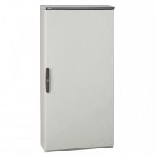 Шкаф Altis моноблочный металлический - IP 55 - IK 10 - RAL 7035 - 1600x800x400 мм - 1 дверь   047121   Legrand