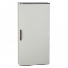 Шкаф Altis моноблочный металлический - IP 55 - IK 10 - RAL 7035 - 1800x1000x400 мм - 1 дверь   047127   Legrand