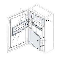Панель для измер.приборов 185х400мм ВхШ для шкафов SR   PS2476K   ABB