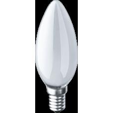 Лампа накаливания ЛОН 60Вт Е14 230В NI-B-60-230-E14-FR   94309   Navigator