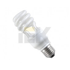 Лампа энергосберегающая КЛЛ 9Вт Е14 2700К Т3 спираль КЭЛ-S | LLE20-14-009-2700-T3 | IEK