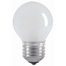 Лампа накаливания ЛОН 40Вт Е27 220В G45 шар матовый   LN-G45-40-E27-FR   IEK