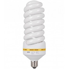 Лампа энергосберегающая КЛЛ 85Вт Е40 840 спираль КЭЛ-FS   LLE25-40-85-4000   IEK