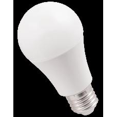Лампа светодиодная LED 11Вт Е27 220В 4000К A60 шар | LLE-A60-11-230-40-E27 | IEK