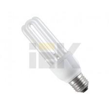 Лампа энергосберегающая КЭЛ-3U Е14 9Вт 4200К Т3 ИЭК | LLE10-14-009-4200-T3 | IEK