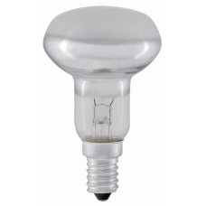 Лампа накаливания зеркальная 60Вт Е14 220В R50 рефлектор   LN-R50-60-E14-CL   IEK