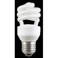 Лампа энергосберегающая КЛЛ 9Вт E14 840 свеча КЭЛ-C | LLE60-14-009-4000 | IEK