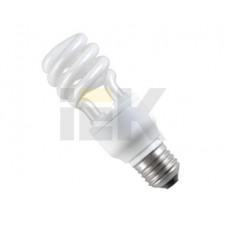 Лампа энергосберегающая КЛЛ 9Вт Е14 4200К Т3 спираль КЭЛ-S | LLE20-14-009-4200-T3 | IEK