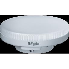 Лампа светодиодная LED 6Вт GX53 230В 4000К NLL-GX53-6-230-4K таблетка (плоский цилиндр) | 94248 | Navigator
