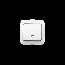 Выключатель 1кл ПРОХ. бел. ALSU EL-BI | 504-010200-209 | ABB