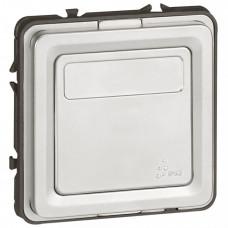 Переключатель на два направления с возможностью маркировки - Программа Soliroc - 10 AX - 250 В~ - IK 10 - IP 55 | 077813 | Legrand