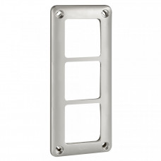 Трехместная рамка - Программа Soliroc - 110х252 мм | 077853 | Legrand