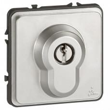 Кнопка с ключом трехпозиционная - Программа Soliroc - 6 A - 230 В - IK 10 - IP 54 | 077875 | Legrand