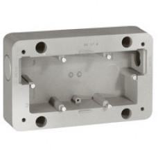 Двухместная коробка - Программа Soliroc - 110х181х45 мм | 077892 | Legrand