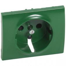 Galea Life Накладка для розетки 2К+3 с крышкой Зеленый | 777034 | Legrand
