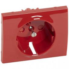 Galea Life Накладка розетки с/з с ключем Красная | 777029 | Legrand