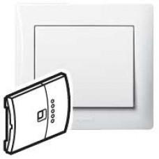 Клавиша для светорегулятора с индикатором, белая | 771090 | Legrand
