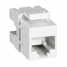Keystone Коннектор RJ 45 кат. 6 - UTP - Quteo IP 20 | 632705 | Legrand