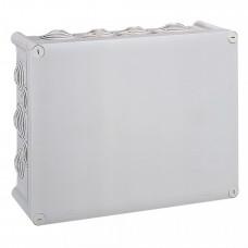 Коробка прямоугольная - 360x270x124 - Программа Plexo - IP 55 - IK 07 - серый - 24 кабельных ввода - 750 °C   092092   Legrand