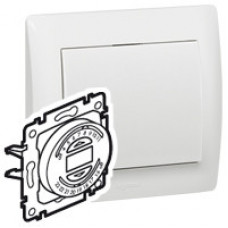 Galea Life Белый Таймер электромех д/управл жалюзи, шаг 15 мин, суточн прогр | 775746 | Legrand