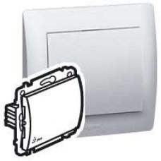 Galea Life Белый Выключатель кнопочный 1-клав., IP44 | 771023 | Legrand