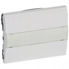 Galea Life Белый Клавиша 1-ая с/п и шильдиком | 777017 | Legrand