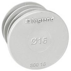 Заглушка - для энергосберегающей встариваемой коробки Batibox - 16 мм | 080016 | Legrand