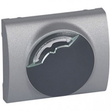 Galea Life Алюминий Накладка электронного термостата (мех. 775868)   771353   Legrand